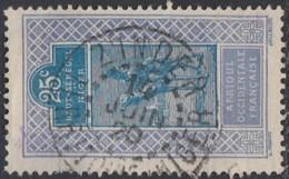 HSN Territoire Du Niger - Zinder Sur N° 25 (YT) N° 24 (AM). Oblitération De 1920. - Haut-Senegal-Niger (1904-1921)