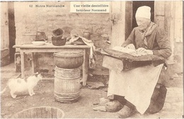 Dépt 14 - Notre Normandie - Une Vieille Dentellière - Intérieur Normand - (Édition H. Ermice - VIRE, N° 62) - Zonder Classificatie