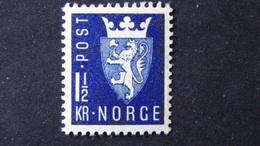 Norway - 1945 - Mi:NO 303, Sn:NO 268, Yt:NO 279, Sg:NO 368, AFA:NO 309**MNH - Look Scan - Norwegen