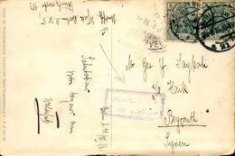ALLEMAGNE - Affranchissement Plaisant De Berlin Sur CP Pour Beyrouth En 1916 - L 51022 - Germany
