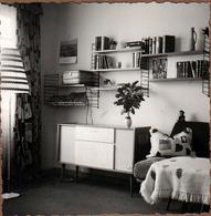 Photo Carrée Originale Mobilier Des Années 1960 - Etagère, Console, Canapé & Lampadaire - Objects