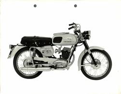 "Moto Morini Corsaro 150 +-23cm X 17cm "" Perforada "" Moto MOTOCROSS MOTORCYCLE Douglas J Jackson Archive Of Motorcycles - Andere"