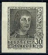 España Nº 844Aeca Sin Goma. Cat.190€ - 1931-50 Unused Stamps
