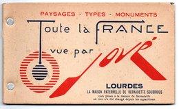 LOURDES - La Maison Paternelle De Bernadette Soubirous - (Carnet De 10 Photos - N & B) - Lourdes