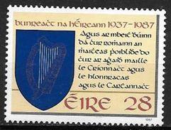 Irlande 1987 N°638 Neuf ** Constitution - 1949-... Republic Of Ireland