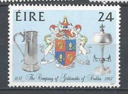 Irlande 1987 N°637 Neuf ** Orfèvres - 1949-... Republic Of Ireland