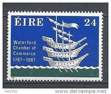 Irlande 1987 N°622 Neuf ** Chambre De Commerce De Waterford - 1949-... Republic Of Ireland