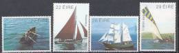 Irlande 1982 N°479/482 Neufs ** Bateaux - 1949-... Republic Of Ireland