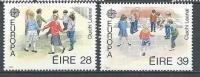 Irlande 1989 N°682/683 Neufs ** Europa Jeux D'enfants - 1949-... Republic Of Ireland