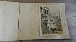 GIGONDAS : Album Photo De Mariage D'un Militaire, Belles Vues - Alben & Sammlungen