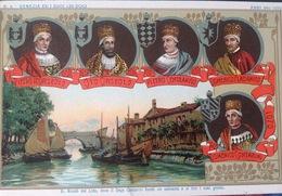 VENEZIA...ed I Suoi 120 Dogi.....Anni 991 - 1070       Cartolina No. 6 Della Serie - Venezia