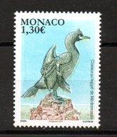 Monaco Fauna Bird Cormoran 2018 MNH - Monaco