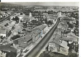 SAINT-ALBAIN  ( SAÔNE ET LOIRE ) R.N. 6 ET VUE PANORAMIQUE - Sonstige Gemeinden