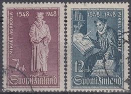 FINLANDIA 1948 Nº 342/343 USADO - Gebraucht