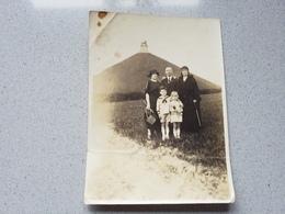 Waterloo  Photo Originale Du Lion Vue - Cartes Postales