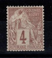 Colonies Générales - Alphee YV 48 N* Bien Centré Cote 6+ Euros - Alphée Dubois
