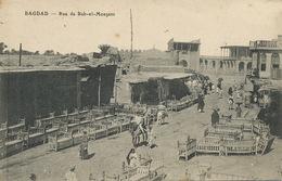 Bagdad Rue De Bab El Moazam Wood Market . Bed Market - Iraq