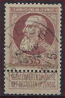Nr. 77 Met ZELDZAME  Agentschapsstempel LIEGE AGENCE NR. 5 En In Goede Staat ; Zie Ook Scan ! Inzet 10 Euro ! - 1905 Grosse Barbe