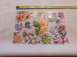 Decoupis Fleur Le Prix Pour 1 Feuille Boite N°45 No Delcampe Apy - Flowers
