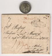 PRESSBURG - 1826 - BRATISLAVA PER MILANO, ITALIA - Autriche