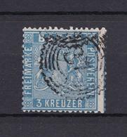 Baden - 1860 - Michel Nr. 10 A - Gest. - 90 Euro - Baden