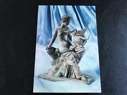 06.011.133 - Institut De France Fondation Theodore Reinach Villa Grecque KERYLOS BEAULIEU SUR MER TANAGRA - Esculturas