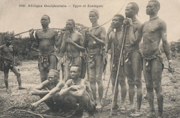 A P 763  -  C P A   AFRIQUE-   OCCIDENTALE -  TYPES DE  KONIAGUIS - Sin Clasificación