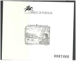 Acores Azores Portugal 1992 Europa Contemporary Art,  Mi 425 In Blackprint MNH(**) - Azores
