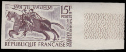 FRANCE   ** 1172 Essai En Bicolore, Violet + Gris, Bdf: Tapisserie De Bayeux, Cavaliers - Essais