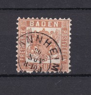 Baden - 1866 - Michel Nr. 20 A - Gest. - 38 Euro - Bade