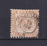 Baden - 1864 - Michel Nr. 20 Ba - Gest. - 65 Euro - Baden