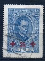 1920 - Michel: 198 Used - PLATE LAW - Tschechoslowakei/CSSR