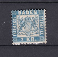 Baden - 1868 - Michel Nr. 25 - Ungebr. - 25 Euro - Baden