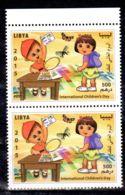 20.11.2015; Childrens Day; SW-No. 3127 En Paire, Neuf **, Lot 52198 - Libyen