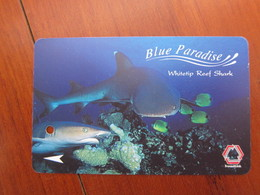 Transitlink Metro Ticket Card, Whitetip Reef Shark - Singapore