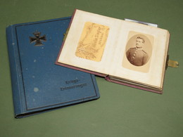 2 ALBUMS DE PHOTOS ALLEMANDS GUERRE ORIGINAUX1914/1918 ! - 1914-18