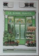 Petit Calendrier Poche 2005 Illustration échope Boutique La Bonne Pensée Fleuriste - Kalenders