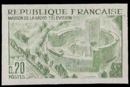 FRANCE   ** 1402 Essai En Vert: Maison De La Radio - Proofs