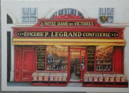 Petit Calendrier Poche 2005 Illustration échope Boutique épicerie Confiserie - Kalenders