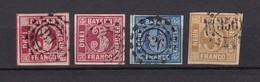 Bayern - 1862 - Michel Nr. 9/11 - Gest. - 55 Euro - Bavaria
