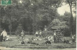 * AULNAY SOUS BOIS , Maison De Retraite Bigottini , Occupée Par Les Convalescents Militaires , CPA ANIMEE , 1916 - Aulnay Sous Bois