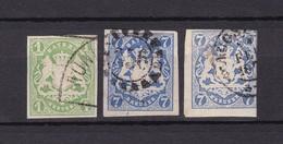 Bayern - 1867/68 - Michel Nr. 14+21 - Gest. - 55 Euro - Bavaria