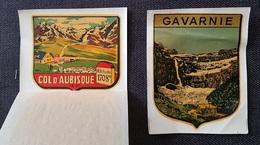 AUTOCOLLANTS Touristiques - GAVARNIE Et COL D'AUBISQUE  ... - Autocollants
