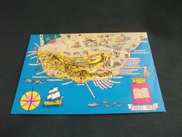 CARTA GEOGRAFICA MAP SAN FELICE CIRCEO PARCO NAZIONALE IL PROMONTORIO - Carte Geografiche
