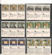 1989 DÉCLARATION UNIVERSELLE DES DROITS DE L'HOMME AVEC POCHETTES DE RANGEMENT ET DÉPLIANT PHILATÉLIQUE - Emissions Communes New York/Genève/Vienne