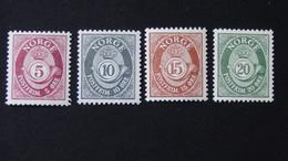 Norway - 1962 - Mi:NO 478-81x, Sn:NO 416-9, Yt:NO 435-8**MNH - Look Scan - Norwegen
