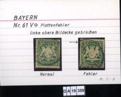 AD Bayern , 61 V , PLF / Abart - Siehe Foto - Bayern