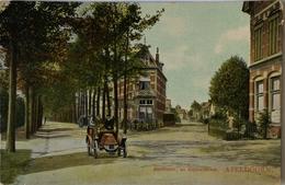 Apeldoorn // Stationsstraat En Kanaalstraat (Automobile) 1911 Tulp /ronde Hoekjes - Apeldoorn