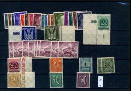 Deutsches Reich, Xx, X, O,  Sammlung Auf A5 - Karte Gesteckt - Ungebraucht