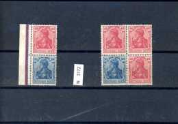 Deutsches Reich, Xx, ZD S21, W16 - Zusammendrucke